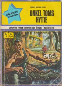 Cover Thumbnail for Stjerneklassiker (I.K. [Illustrerede klassikere], 1969 series) #6 - Onkel Toms hytte