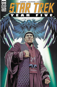 Cover Thumbnail for Star Trek: Year Five (IDW, 2019 series) #20 [Regular Cover]