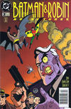 Cover for The Batman and Robin Adventures (DC, 1995 series) #2 [Newsstand]