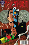 Cover for The Batman and Robin Adventures (DC, 1995 series) #22 [Newsstand]