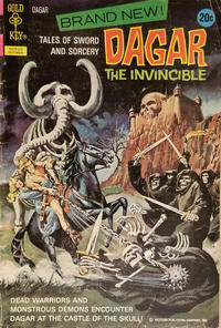 Cover Thumbnail for Tales of Sword and Sorcery Dagar the Invincible (Western, 1972 series) #1 [20 cent]