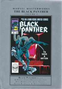 Cover for Marvel Masterworks: The Black Panther (Marvel, 2010 series) #3