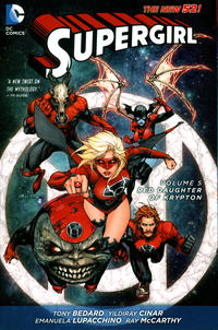 Cover Thumbnail for Supergirl (DC, 2012 series) #5 - Red Daughter of Krypton