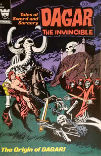 Cover Thumbnail for Tales of Sword and Sorcery Dagar the Invincible (Western, 1972 series) #19 [White Whitman Logo]