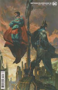 Cover Thumbnail for Batman / Superman (DC, 2019 series) #18 [Simone Bianchi Cardstock Variant Cover]