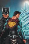 Cover for Batman / Superman (DC, 2019 series) #1 [Comics Elite Ryan Kincaid Superman Virgin Cover]