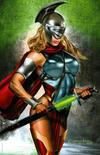 Cover for Batman / Superman (DC, 2019 series) #1 [ComicXposure Greg Horn Supergirl Virgin Cover]