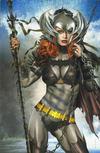 Cover for Batman / Superman (DC, 2019 series) #1 [Greg Horn Art Batgirl Virgin Cover]