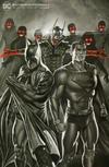 Cover for Batman / Superman (DC, 2019 series) #1 [BuyMeToys.com Rodolfo Migliari Black and White Minimal Trade Dress Cover]