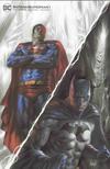 Cover Thumbnail for Batman / Superman (2019 series) #1 [Scorpion Comics Lucio Parrillo Minimal Trade Dress Cover]