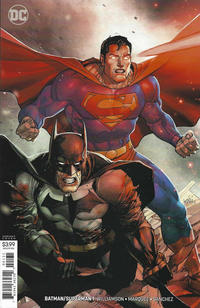 Cover Thumbnail for Batman / Superman (DC, 2019 series) #1 [Leinil Yu Variant Cover]
