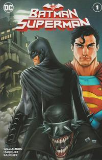 Cover Thumbnail for Batman / Superman (DC, 2019 series) #1 [Comics Elite Ryan Kincaid Batman Cover]