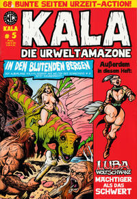 Cover Thumbnail for Kala Die Urweltamazone (Weissblech Comics, 2015 series) #5