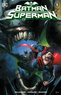 Cover Thumbnail for Batman / Superman (DC, 2019 series) #1 [Scorpion Comics Clayton Crain Cover]