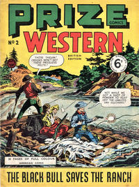 Cover Thumbnail for Prize Comics Western (Streamline, 1950 series) #2