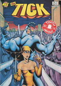 Cover Thumbnail for The Tick (New England Comics, 1988 series) #3 [Seventh Printing]