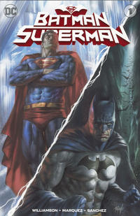 Cover Thumbnail for Batman / Superman (DC, 2019 series) #1 [Scorpion Comics Lucio Parrillo Cover]