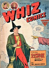 Cover Thumbnail for Whiz Comics (L. Miller & Son, 1950 series) #63
