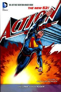 Cover Thumbnail for Superman - Action Comics (DC, 2012 series) #5 - What Lies Beneath