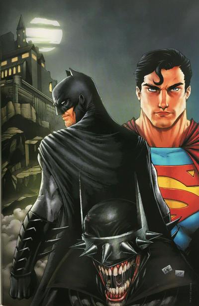 Cover for Batman / Superman (DC, 2019 series) #1 [David Marquez Batman Cover]