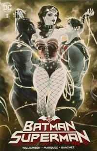 Cover Thumbnail for Batman / Superman (DC, 2019 series) #1 [Third Eye Comics Kaare Andrews Cover]