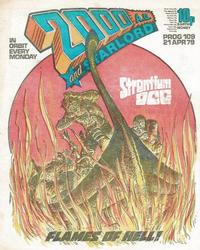 Cover Thumbnail for 2000 AD and Starlord (IPC, 1978 series) #109
