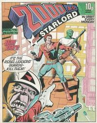 Cover Thumbnail for 2000 AD and Starlord (IPC, 1978 series) #110