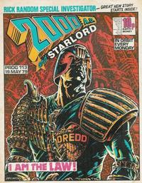 Cover Thumbnail for 2000 AD and Starlord (IPC, 1978 series) #113