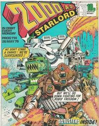 Cover Thumbnail for 2000 AD and Starlord (IPC, 1978 series) #114