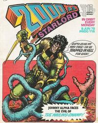 Cover Thumbnail for 2000 AD and Starlord (IPC, 1978 series) #116