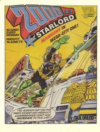 Cover Thumbnail for 2000 AD and Starlord (IPC, 1978 series) #117