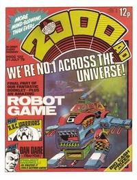 Cover Thumbnail for 2000 AD and Starlord (IPC, 1978 series) #122