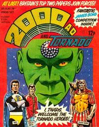 Cover Thumbnail for 2000 AD and Tornado (IPC, 1979 series) #127