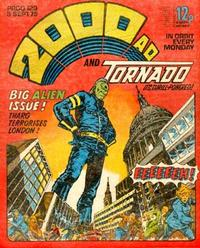 Cover Thumbnail for 2000 AD and Tornado (IPC, 1979 series) #129