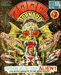 Cover Thumbnail for 2000 AD and Tornado (IPC, 1979 series) #136