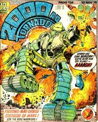 Cover Thumbnail for 2000 AD and Tornado (IPC, 1979 series) #138
