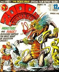Cover Thumbnail for 2000 AD and Tornado (IPC, 1979 series) #142