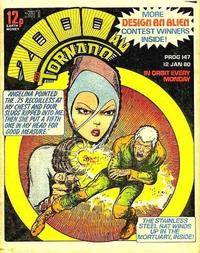 Cover Thumbnail for 2000 AD and Tornado (IPC, 1979 series) #147