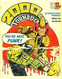 Cover Thumbnail for 2000 AD and Tornado (IPC, 1979 series) #148