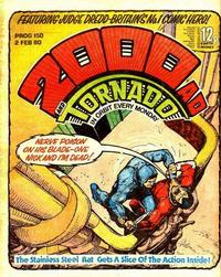 Cover Thumbnail for 2000 AD and Tornado (IPC, 1979 series) #150