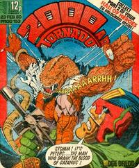 Cover Thumbnail for 2000 AD and Tornado (IPC, 1979 series) #153