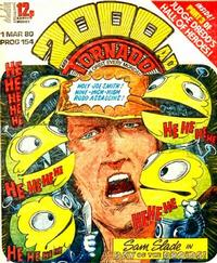 Cover Thumbnail for 2000 AD and Tornado (IPC, 1979 series) #154