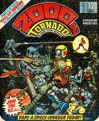 Cover Thumbnail for 2000 AD and Tornado (IPC, 1979 series) #155