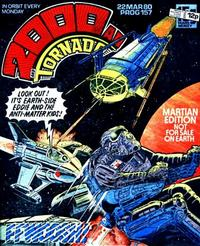 Cover Thumbnail for 2000 AD and Tornado (IPC, 1979 series) #157