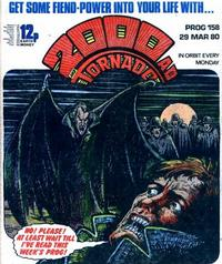 Cover Thumbnail for 2000 AD and Tornado (IPC, 1979 series) #158