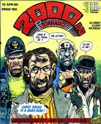 Cover Thumbnail for 2000 AD and Tornado (IPC, 1979 series) #160