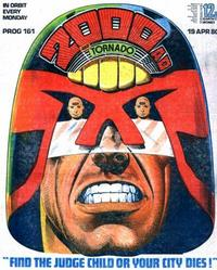 Cover Thumbnail for 2000 AD and Tornado (IPC, 1979 series) #161