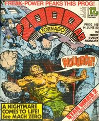 Cover Thumbnail for 2000 AD and Tornado (IPC, 1979 series) #165