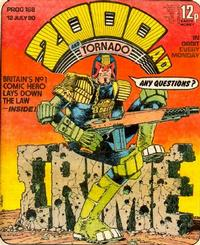 Cover Thumbnail for 2000 AD and Tornado (IPC, 1979 series) #168