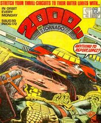Cover Thumbnail for 2000 AD and Tornado (IPC, 1979 series) #172